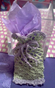 Little lacey gift pouch